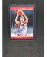 2012-13 Hoops Autographs #255 Jon Leuer ROCKETS AUTO  NM-MT *FBGCOLLECTI... - $6.80