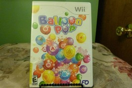 Balloon Pop (Nintendo Wii, 2008) Complete w/ Manual - VG+ - $6.88