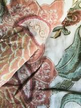 Pottery Barn Cynthia Duvet Cover Queen Palampore Floral  No Shams Rare - $99.00