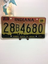 Vintage Indiana License Plate -  - Single Plate 1998 - $16.82