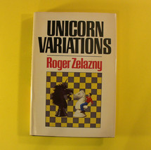 Unicorn Variations (Roger Zelazny, 1987) Hardcover, Book Club Edition BCE - $9.98