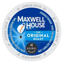 Maxwell House The Original Roast Coffee, 72 count K cups FREE SHIPPING - $52.99