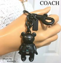 Coach Star Wars Keychain Darth Vader Bear Bag Charm F78818 NWT - $106.92