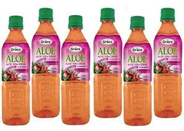 Aloe Vera Juice Drink With Pomegranate (Pack Of 6) - $29.99
