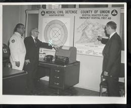 1964 CONDELRAD PHOTO-UNION COUNTY NEW JERSEY-MEDICAL CIVIL DEFENSE-COLD WAR - $24.00