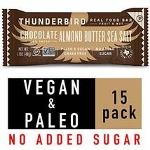 Thunderbird Paleo and Vegan Snacks - Real Food Energy Bars - Nut & Seed - Box of