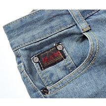 High quality men's jeans Casual  hole jeans men balmai jeans men denim trousers  image 8