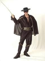 BANDIT MAN WITH HAT & MASK (ZORRO), MENS FANCY DRESS COSTUME #US - $53.95