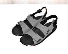 Dr. Martens Crewe Gray Adjustable Strap Sport Beach Sandal Men's Euro 45... - $52.03 CAD