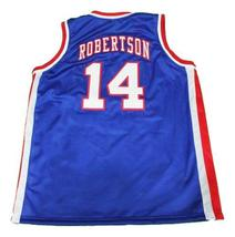 Oscar Robertson #14 Cincinnati Basketball Jersey Sewn Blue Any Size image 5