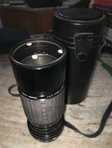 hoya 55mm sigma zoom f100 200mm - $436.50