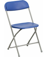 HERCULES Series 440 lb. Capacity Premium Plastic Folding Chair, - $18.99