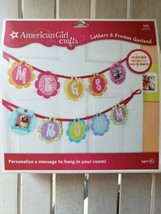 American Girl Crafts LETTERS & FRAMES GARLAND Project KIT, 153 Pieces Se... - $7.87