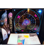Fleets Fantasy Galactic Space Battle Star War 2002 Board Game Stargate 1 - $59.49
