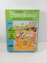 Whitman 1968 Disneyland Tea Cup Ride 100 Piece ... - $24.74