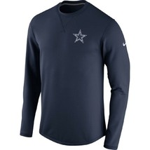 Dallas Cowboys 2017 Nike Sideline Modern Crew Neck Navy Sweatshirt Adult... - $47.99