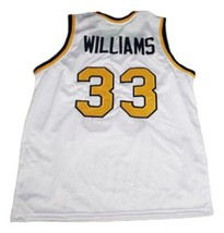 Jason Williams #33 Dupont High School Basketball Jersey New Sewn White Any Size image 5