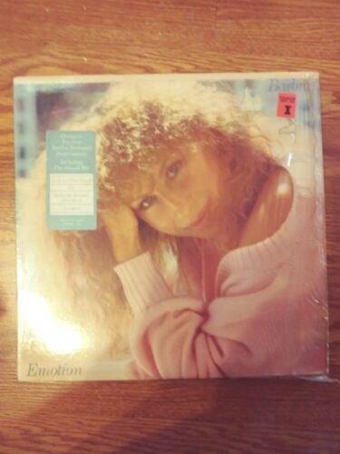 BARBRA STREISAND, Emotion on 33 1/3 Vinyl Lp Record Album