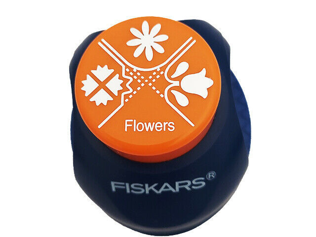 Fiskars Decorative Flowers Corner Punch, 3 Designs