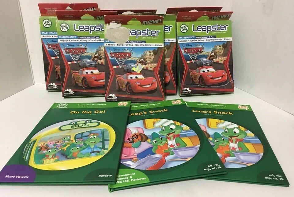 Primary image for Leap Frog Leapster Learning Game & Book Bundle