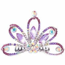 Popular Plate Hair Comb Crystal Crown Bridal Headdress - €12,41 EUR