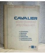 1982 Chevrolet (Chevy) Cavalier Shop / Repair Manual Supplement (ST-366-... - $9.89