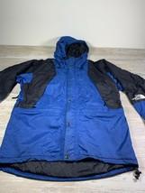 North Face Mens L Lg Vtg 90s Mountain Light Gore-Tex Jacket Coat Blue for Denali - $148.48