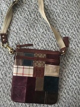 Coach patchwork Messenger Handbag Purse - $81.99