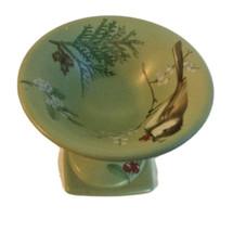 Pfaltzgraf Winterwood Green, Bird Bath Votive, Chickadee Bird  - $14.99