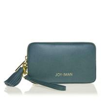 JOY & IMAN Tassel Chic Leather Wallet with RFID, Jade - $29.69