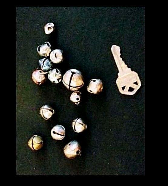 Metal Jingle Bells AB 318 Small Vintage