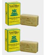 2~The Naked Bee Antibacterial SOAP BAR Oatmeal & Honey Orange Blossom Ho... - $16.99