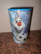"Frozen Cup Tumbler New Plastic 5.5"" Tall 3.5"" Diam - $3.50"