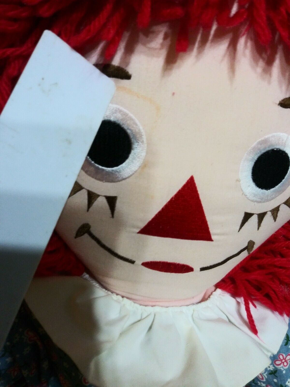 Vintage Raggedy Ann Doll 1991 3 Feet Tall Authentic Johnny Gruelle by Applause
