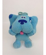 Vintage 1998 Tyco Blue's Clues Beachtime Blue Water Toy Dog Plush Stuffe... - $28.66