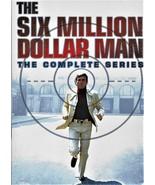 The Six Million Dollar Man: The Complete Series DVD Box Set Brand New  - $53.95