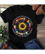 Hippe Sunflower Give Me The Beat Boys Free My Soul I Wanna Get Lost Shirt Ladies - $19.50