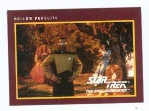 Primary image for Star Trek The Next Generation card #216 Hollow Pursuits Geordi La Forge LaVar Bu