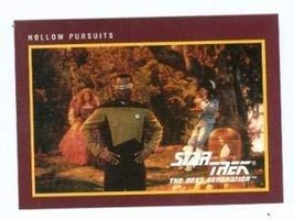 Star Trek The Next Generation card #216 Hollow Pursuits Geordi La Forge ... - $3.00