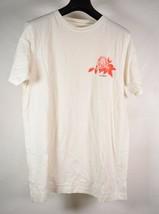Saturdays Surf NYC Mens Rose SS T-Shirt Off-White L - $19.80