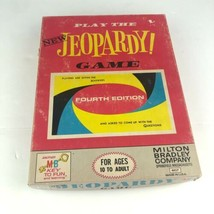 Vintage New Jeopardy Board Game 4th Edition 1964 Milton Bradley Classic  - $19.79