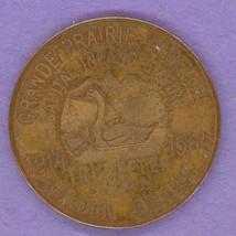 1964 Grande Prairie Alberta Trade Token or Dollar Golden Jubilee SMALL SWAN - $25.00