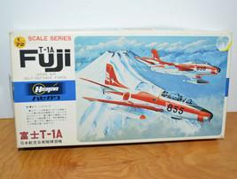 Vintage HASEGAWA T-1A FUJI JAPAN AIR SELF-DEFENSE FORCE Model Kit Unused... - $23.90