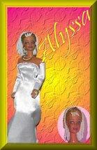 Beaded Hair Fashion Doll Alyssa OOAK Refashioned Barbie - $59.99