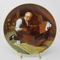 Knowles Norman Rockwell Grandpas Gift Collector Plate Bradex no. 84-R70-... - $18.80