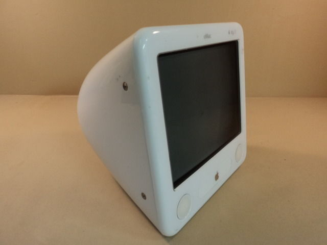 Apple eMac PowerMac PowerPC G4 17in 1GHz White 40GB Hard Drive A1002 EMC 1955