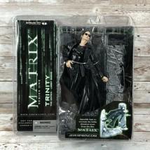 2003 The Matrix Series 1: Trinity (Lobby Scene) action figure by McFarlane Toys - $32.62