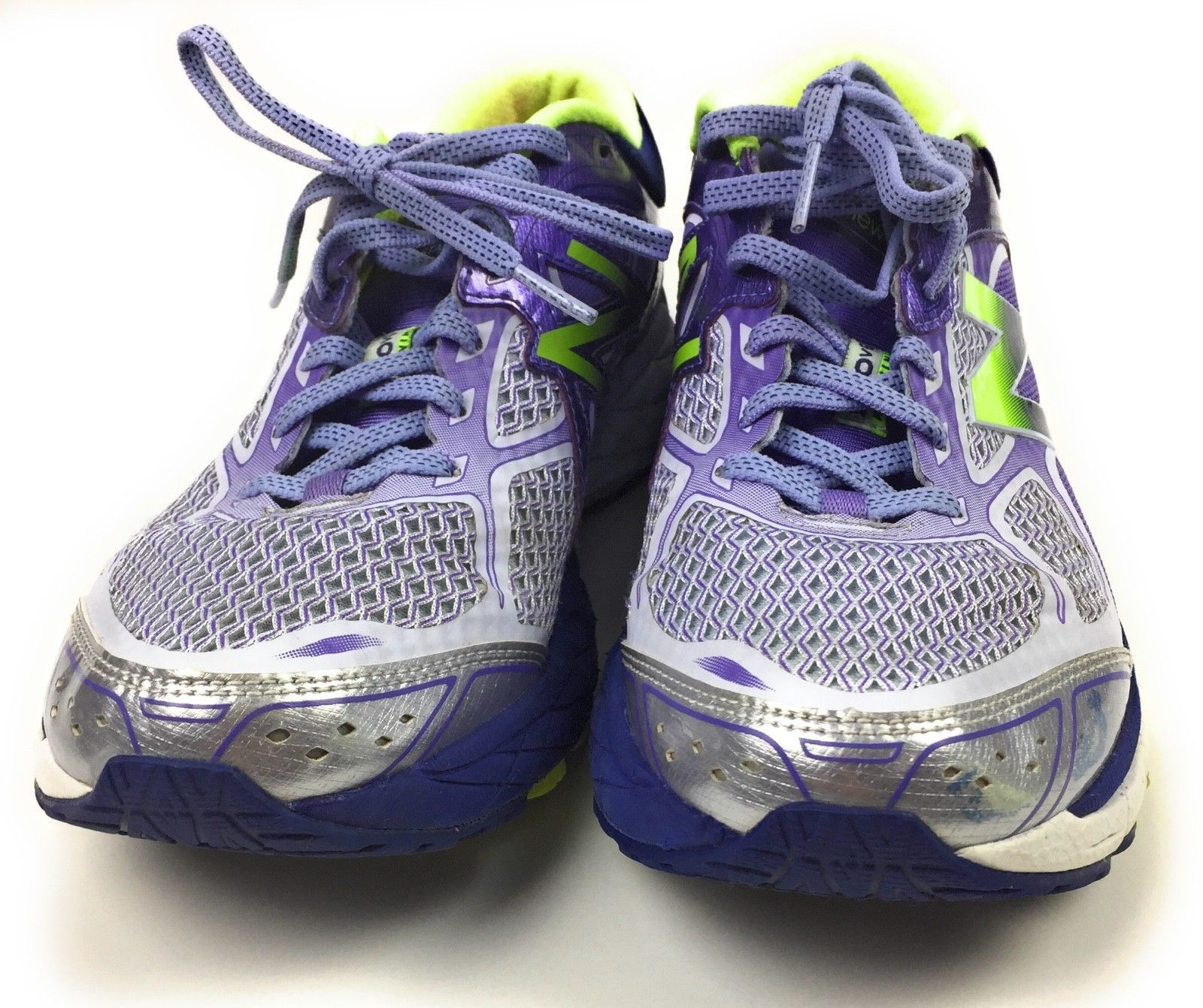New Balance 860v6 Athletic Running Shoes W860GP8 Purple Green Women's Size 8 US image 3