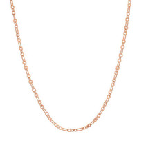 "Origami Owl Chain (New) 20""-22"" Rose Gold Dainty Flat Oval (CN7047) - $17.84"