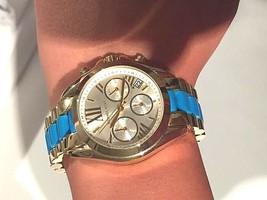 Michael Kors Women's MK5908 Bradshaw Chronograph Two-Tone Bracelet Watch - $167.31